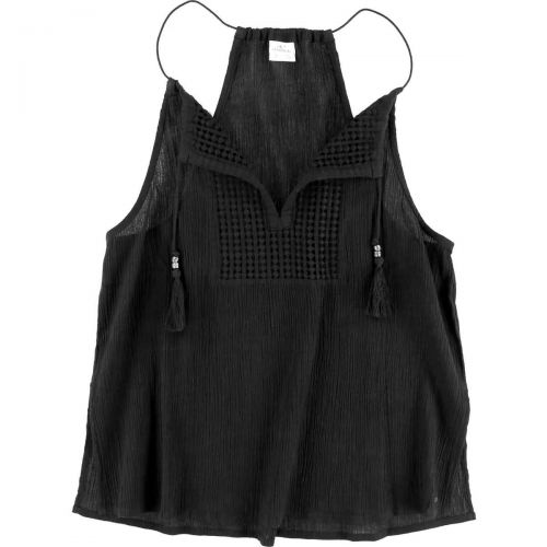 O'Neill Lada Women's Tank Shirts, color: Black | Thistle, category/department: women-tanks