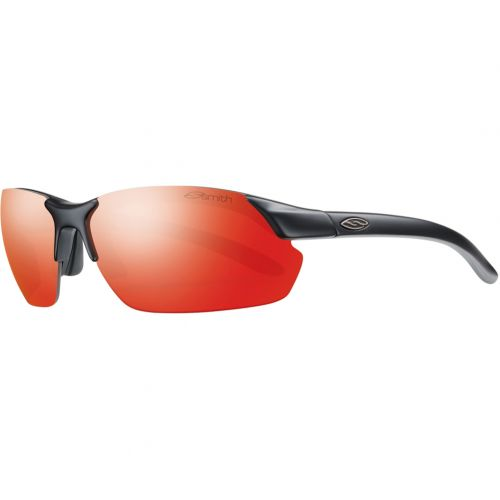 Smith Optics Parallel Max Premium Performance Rimless Adult Sunglasses, color: Pearl/Bronze Mirror | Matte Black/Red Sol-X | Matte Cement/Red Sol-X | Matte Black/Green Sol-X | Slate Citron/Yellow Mirror | Crystal Fuchsia/Platinum/Ignitor/Clear | Crystal Poppy/Platinum/Ignitor/Clear | Cement Yellow/Platinum Mirror | Blue/Platinum | Red Crystal/Platinum | Matte Graphite/Blue Mirror/Ignitor/Clear, category/department: men-sunglasses, women-sunglasses