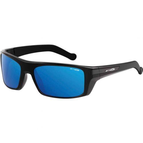 Arnette Conjure Adult Sunglasses, color: 41/55 Gloss Black/Fuzzy Black Plate/Blue Mirror | 41/87 Gloss Black/Matte Grey Plate/Grey | 41/6Q Gloss Black/Fuzzy Dark Red Plate/Red Mirror | 447/71 Fuzzy Black/Gloss Black Plate/Grey Green, category/department: men-sunglasses, women-sunglasses