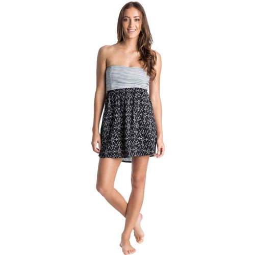 Roxy Savage 3 Women's Dresses, color: True Blk Mirage Mark | Tribal Palm | Sky Blue Hearts Of Palms | Diamond Ht Crl Pttn, category/department: women-dresses