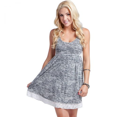 Metal Mulisha Clouded Women's Dresses, color: Grey, category/department: women-dresses