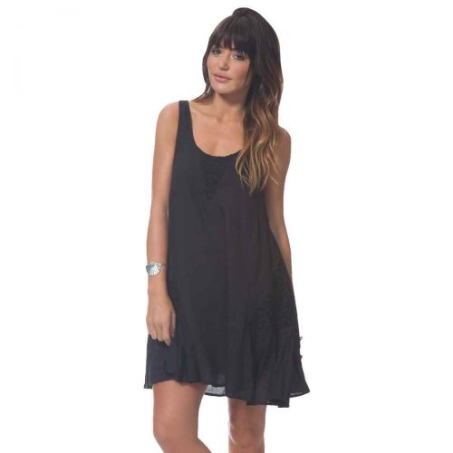 Rip Curl Morning Light Cover-Up Women's Dresses, color: Black | White, category/department: women-dresses